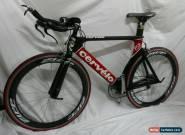 Cervelo P3C 56cm Triathlon Bike 10 Speed Dura Ace 7800 & Carbon Wheels for Sale