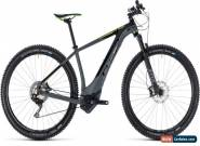 Cube Reaction Hybrid SLT 500 Mens Electric Mountain Bike 2018 - Grey for Sale
