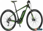 Scott E-Scale 720 MTB Mens Electric Mountain Bike 2017 - Black for Sale