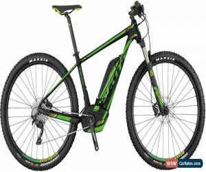 Classic Scott E-Scale 720 MTB Mens Electric Mountain Bike 2017 - Black for Sale