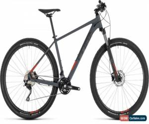 Classic Cube Attention Mens Hardtail Mountain Bike 2019 - Iridium/Red for Sale