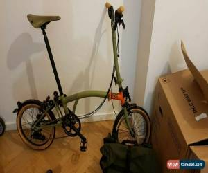 Classic BROMPTON EXPLORE H6L mudguard with bag accessories boxed NEW for Sale