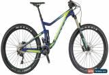 Classic Scott Contessa Genius 730 Womens Mountain Bike 2018 - Blue Small for Sale