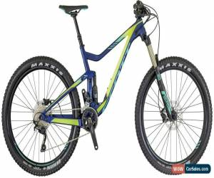 Classic Scott Contessa Genius 730 Womens Mountain Bike 2018 - Blue Small for Sale