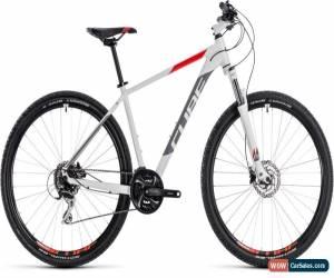Classic Cube Aim Race Mens Hardtail Mountain Bike 2018 - White for Sale