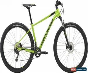 Classic Cannondale Trail 7 27.5 Mens Hardtail Mountain Bike 2018 Green Small for Sale