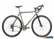 2011 Moots Psychlo X Cyclocross Bike 55cm Titanium SRAM Force 1 11s HED Belgium for Sale