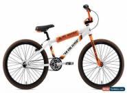 SE Bikes 2019 So Cal Flyer 24 Inch BMX Single Speed Wheelie Bike White/Orange for Sale