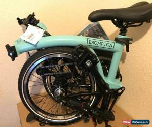 Classic Brompton Bike M6L Turkish Green 2020 New Box-shipping To Worldwide Availble  for Sale