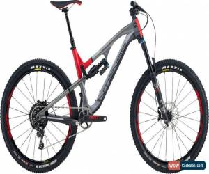 Classic Intense Recluse Pro Full Suspension Mountain Bike Mens MTB Grey Red for Sale