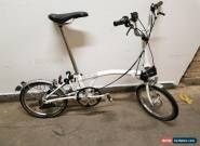 BROMPTON ELECTRIC BIKE NANO 2013  for Sale