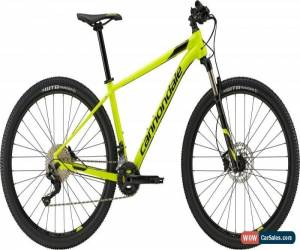 Classic Cannondale Trail 4 29 Mens Mountain Bike 2018 - Yellow Medium for Sale