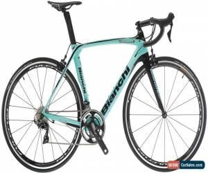 Classic Bianchi Oltre XR3 CV 105 Mens Road Bike 2018 - Green for Sale