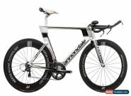 2013 Cannondale Slice RS Time Trial Bike 58cm Carbon Shimano Ultegra 6700 for Sale