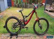 Specialized Sworks Demo8 Carbon Downhill Mountain Bike Custom Build for Sale