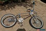 Classic Team Mongoose 1979 BMX Chrome  for Sale