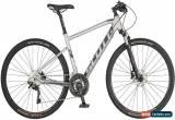 Classic Scott Sub Cross 10 Mens Hybrid Bike 2019 - Silver for Sale