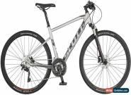 Scott Sub Cross 10 Mens Hybrid Bike 2019 - Silver for Sale