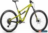 Classic Santa Cruz Hightower LT C S Mens Mountain Bike 2018 - Green Medium for Sale