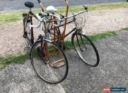 Raleigh Bikes X 2 Vintage Bought In England Bikes, Romantic Duet His And Hers, for Sale