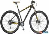Classic Scott Aspect 930 Mens Hardtail Mountain Bike 2018 - Black for Sale
