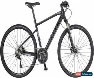 Classic Scott Sub Cross 10 Mens Hybrid Bike 2018 - Black for Sale