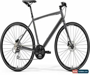 Classic Merida Crossway Urban 20 Mens Hybrid Bike 2019 - Silver for Sale