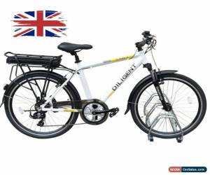 Classic G-Hybrid Diligent Electric Hybrid Bike EBike 36v10Ah 40 Miles 7 Gears White GB8 for Sale