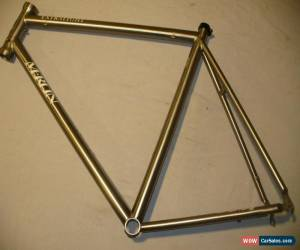Classic Merlin Extralight Titanium Road Bike Ti Frame - 58CM - Large - Nice! for Sale
