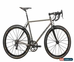 Classic Serotta Legend Ti Custom Road Bike Medium Titanium Campagnolo Super Record 11s for Sale
