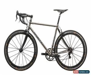 Classic Serotta Legend Ti Custom Road Bike Medium Titanium Campagnolo Super Record 11s for Sale