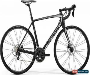 Classic Merida Scultura Disc 4000 Mens Road Bike 2018 - Black for Sale