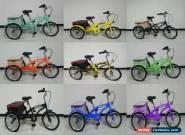 """Adult/Kid 16/24"""" 6 Speed 3 Wheel Tricycle Bicycle Bike Cruise & Basket UK, trike for Sale"""