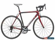 2010 Scott Addict R2 Road Bike 56cm Large Carbon Shimano 105 Ultegra 10s Mavic for Sale