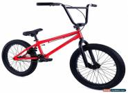 "Elite 20"" BMX Stealth Bicycle Freestyle Bike Red NEW 2018 for Sale"