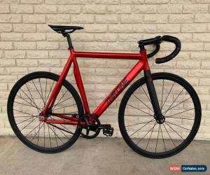 Classic Throne Custom Phantom Track Fixed gear bike Fixie 59cm Red/Black for Sale