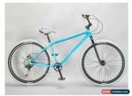 MAFIABIKES Mafia Bomma Blue Crackle 10 Speed 27.5 inch Wheelie Bike for Sale