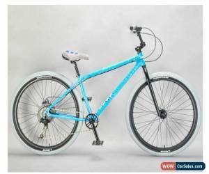 Classic MAFIABIKES Mafia Bomma Blue Crackle 10 Speed 27.5 inch Wheelie Bike for Sale