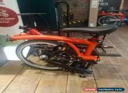 Brompton M6L Black Edition Red Rocket BE M6L for Sale