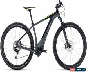 Classic Cube Reaction Hybrid SLT 500 Mens Electric Mountain Bike 2018 - Grey for Sale