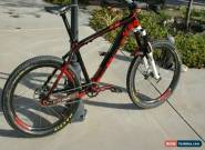 """On One 456Carbon Single Speed size 18"""" mountain bike with carbon wheelsets for Sale"""
