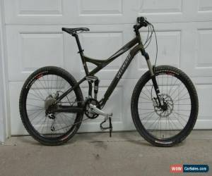 Classic 2011 Specialized XC Expert FSR Mountain Bike, Large, green aluminum, great shape for Sale