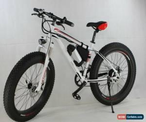 "Classic High Quality Aluminium 26"" Fat Tyres Electric Bike / Snow Bike / Mountain Bike for Sale"
