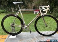 Colnago Master Orig Vintage Collectable Frame 57cms Campag Groupo Modern wheels for Sale