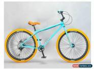 MAFIABIKES Mafia Bomma Teal 10 Speed 27.5 inch Wheelie Bike for Sale
