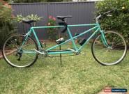 Tandem road bike - Custom built Reynolds 531 frame size 54cm  for Sale