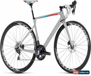 Classic Cube Axial SL Disc Team Womens Carbon Road Bike 2018 - Grey for Sale