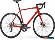 Merida Scultura Disc 200 Mens Road Bike 2019 - Red for Sale