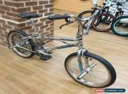 Haro Sport 1995 Bashguard Custom Old Mid School BMX Bike Chrome for Sale