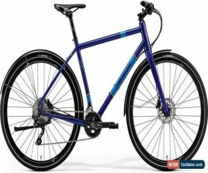 Classic Merida Crossway Urban 500 Mens Hybrid Bike 2018 - Blue for Sale